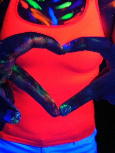 Glow in the Dark Body Paint (Personal Collection) ...XoXo