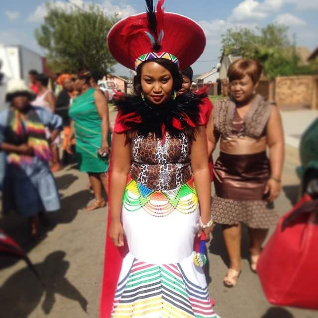 Zulu Traditional Wedding Dress