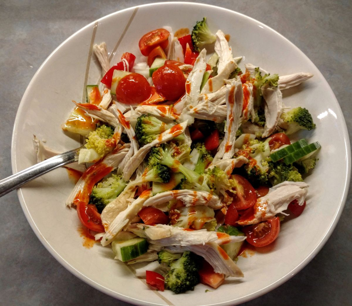 Low-cal chicken salad made in minutes  The Mum Reviews #foodiefriday