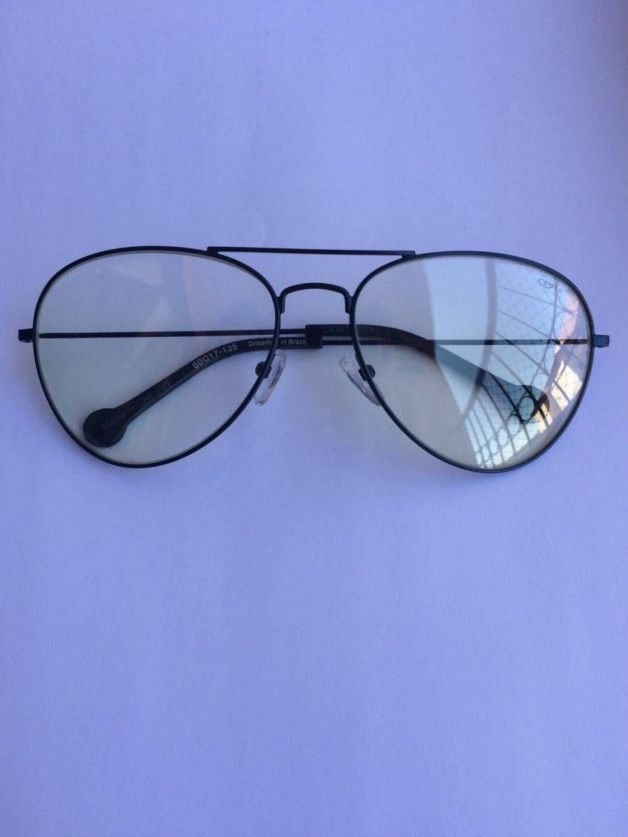 Óculos de grau modelo aviador   Pinterest   Óculos de grau, Aviador ... cbf3c30ce5