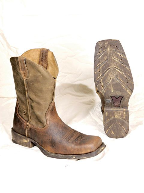 "(Ariat Rambler Boot.) These boots say, ""I have good taste, and I would save you in a zombie apocalypse."""