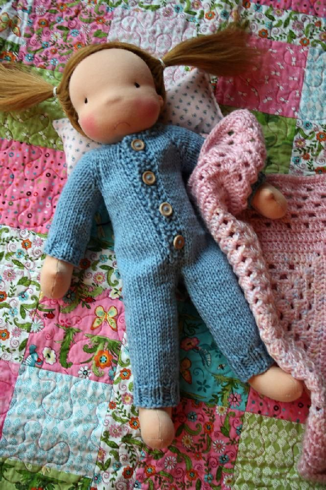 The Union Suit for Dolls Knitting pattern by Mini Me Woolies
