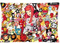Custom 50x75cm Size Bedding Pillow Cover Charming Tokidoki Girl Cartoon Best Gift To Lover