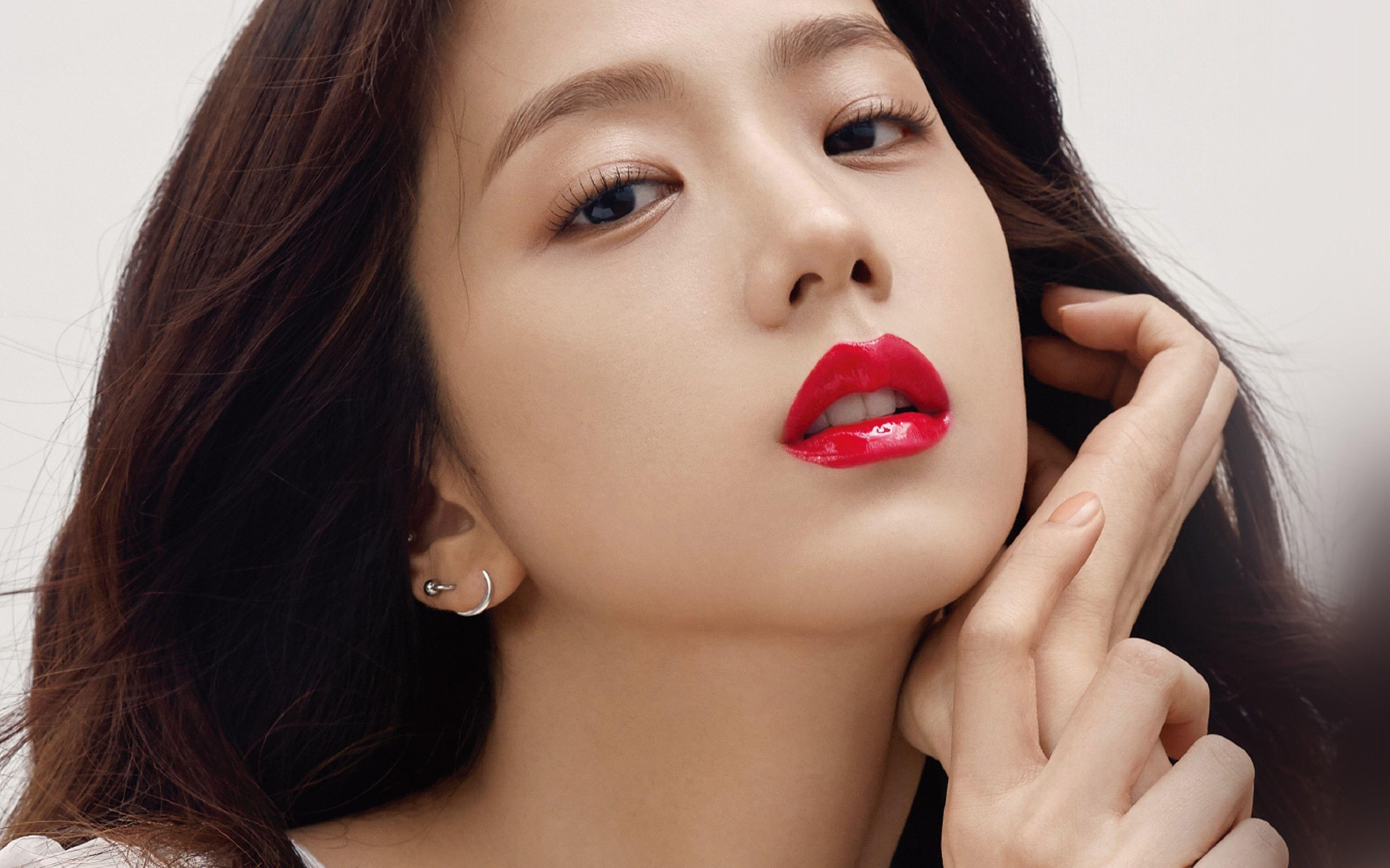 Kpop Blackpink Girl Red Lips 4k Wallpaper Hdwallpaper Desktop In 2020 Desktop Wallpaper Blackpink Beauty Lipstick