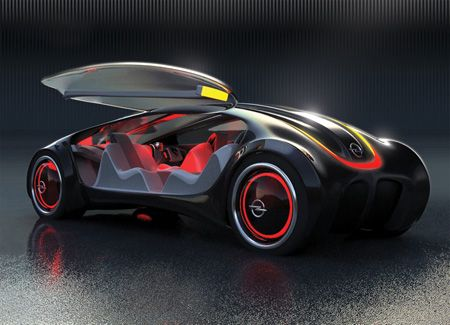 futuristic numbers future transportation opel siderium car concept with luxury and - Sports Cars Of The Future