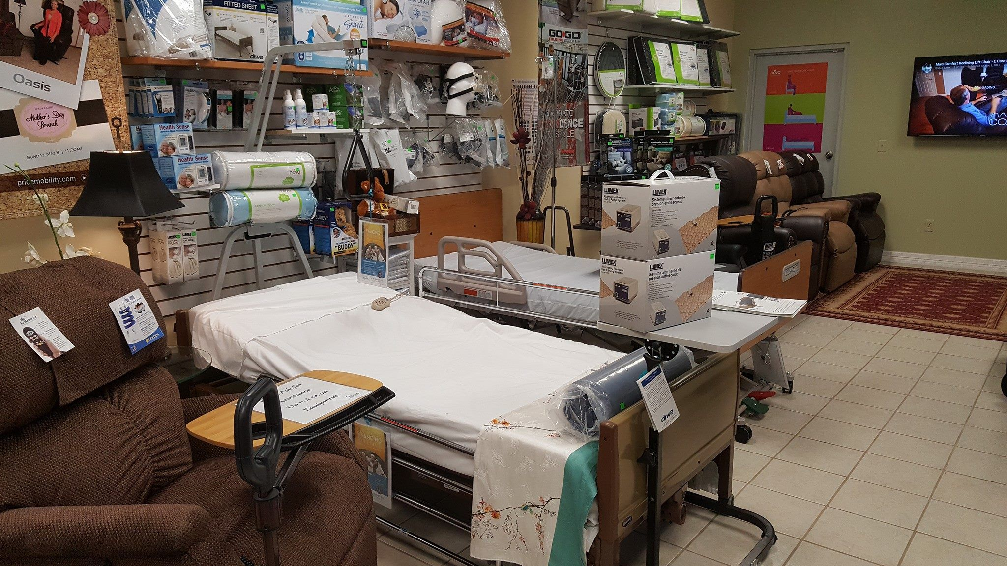 scene deliver rent beds hire for home hospital prop bed and