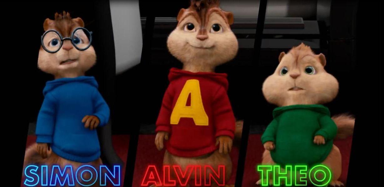 Alvin Simon And Theodore Com Imagens Alvin E Os Esquilos