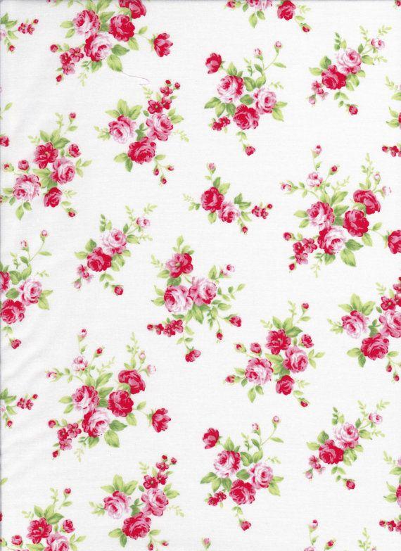 Lecien Floral Collection 30742L 10 by DonnasLavenderNest on Etsy, $2.75