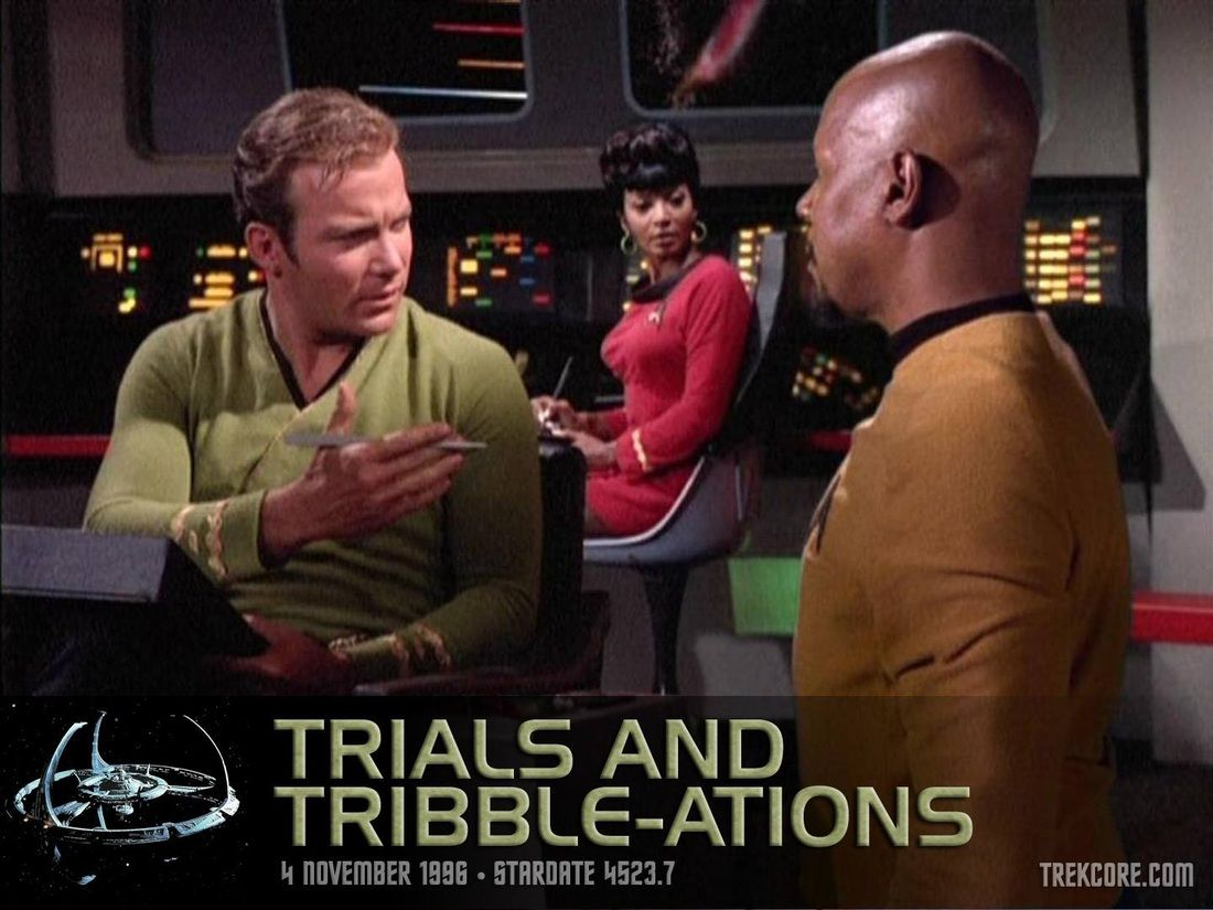 Star Trek Deep Space Nine Trials and Tribble-ations