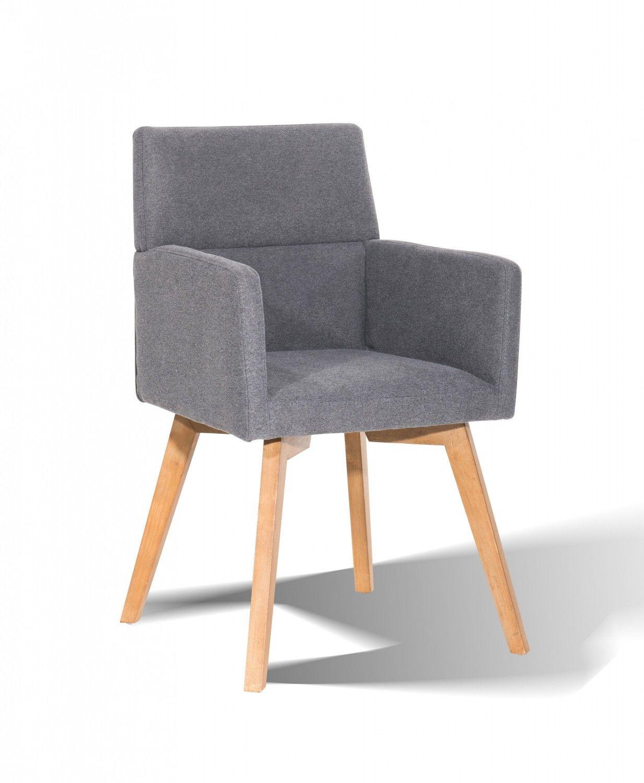 Unglaublich Esstisch Stühle Mit Armlehne Galerie Von Skandinavischer Stuhl Serie 3 Armlehnen Grau –