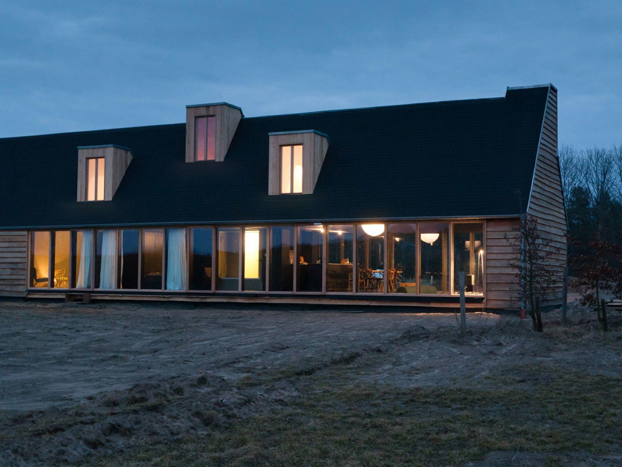 Schwarzes Haus schwarzes haus tka kröger architekten berlin houses