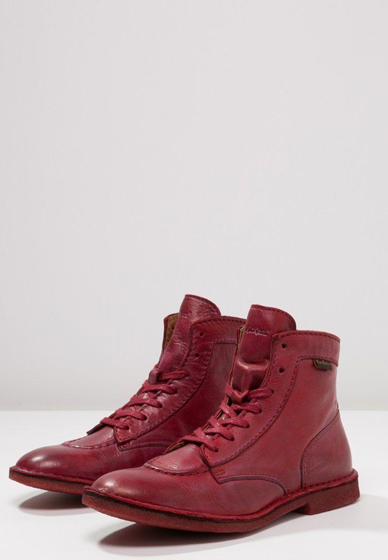 Zalando Kickers À Lacets Bottines Neolegend Rouge fr Qthrds