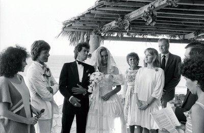 Anita Pallenberg Keith Richards Daughters Wedding.Keith Richards And Patti Hansen Picture By Ken Regan Keith