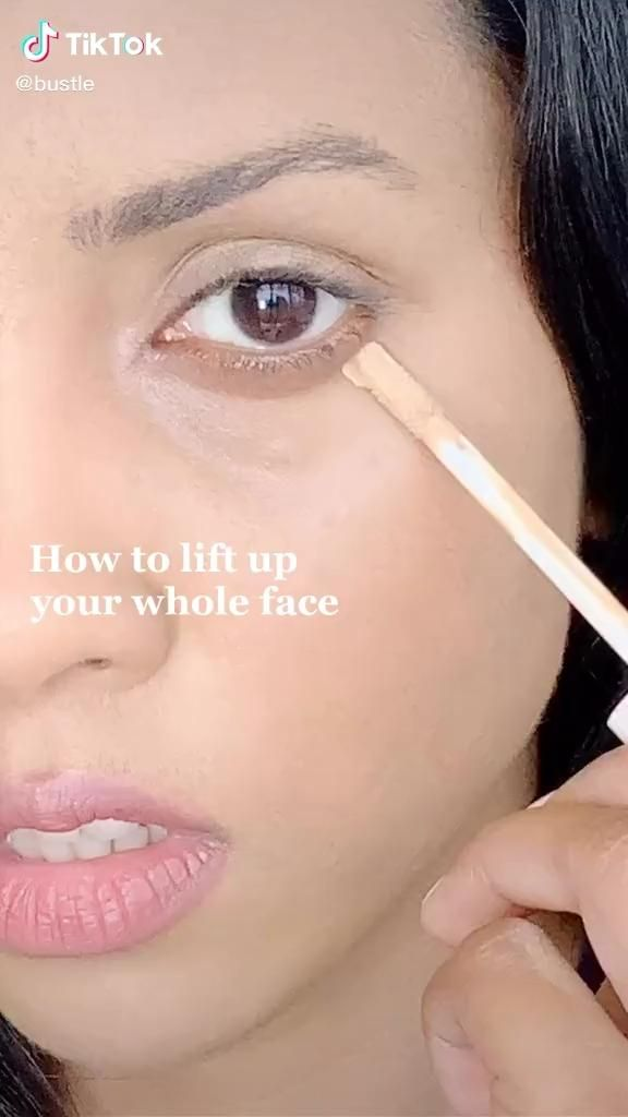 Makeup Face Facelift Tiktok Makeuptutorial Video Eye Makeup Tutorial Eye Makeup Makeup Makeover