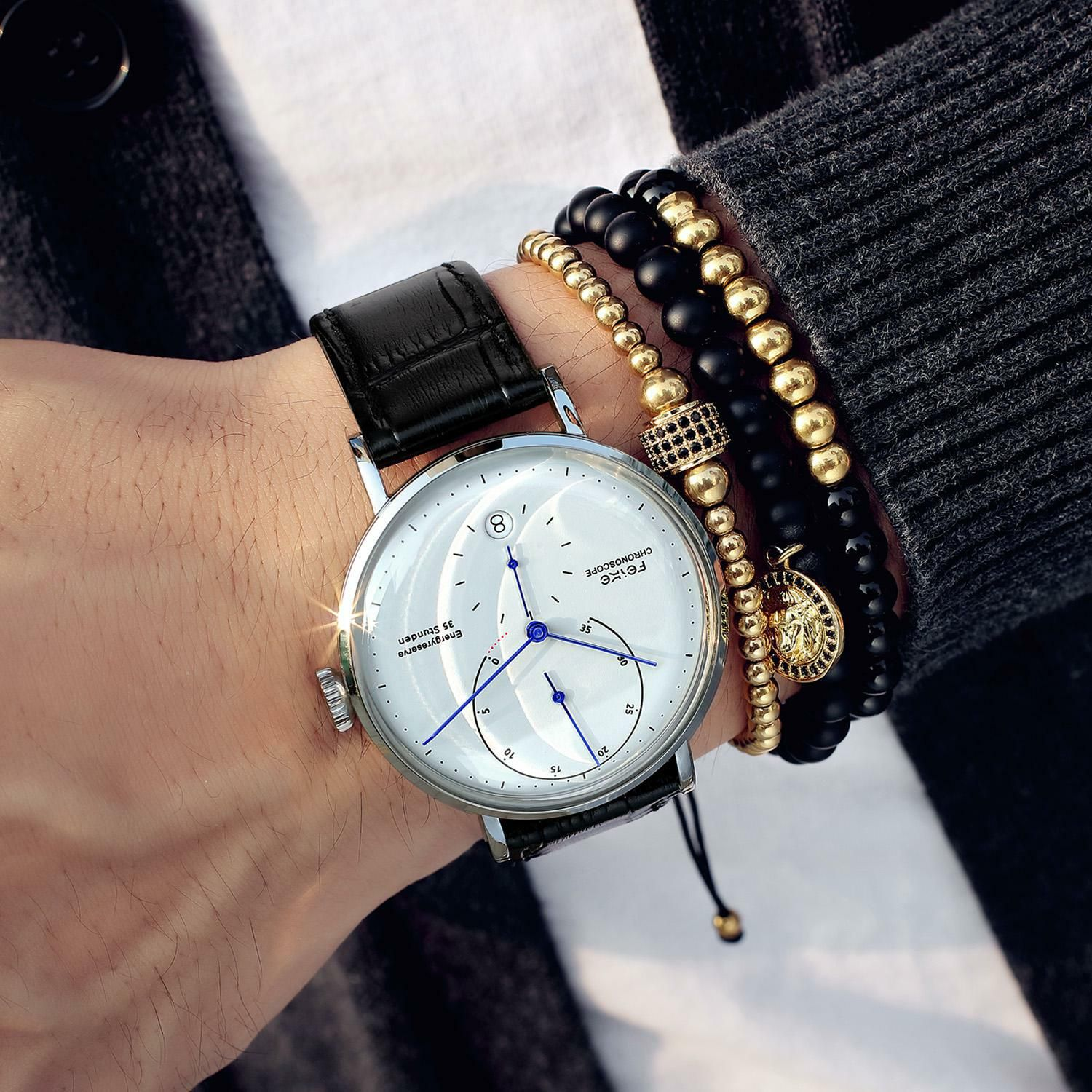 Fashion Casual Dress Watches For Men Automatic Self Wind Movement With Minimalist Bauhaus Des Luxury Watches For Men Watches For Men Automatic Watches For Men [ 1500 x 1500 Pixel ]