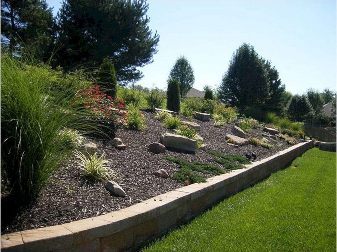 Top 15 Slope Backyard Design Ideas For Your Landscape Freshouz Com Sloped Backyard Landscaping Sloped Backyard Hillside Landscaping Landscaping ideas for side of house with slope
