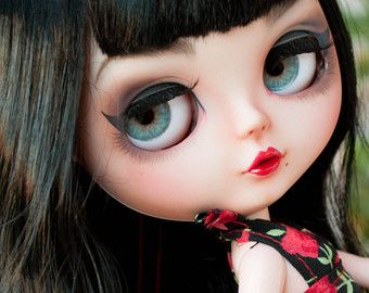 Awesome Neo Blythe Doll Custom OOAK RBL by OdawakotoVintageToys