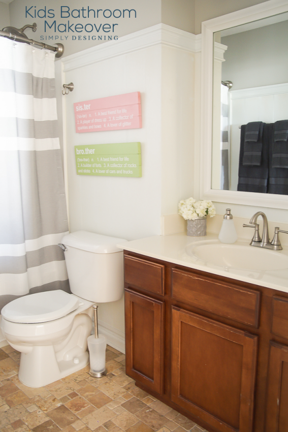 Kids Bathroom Makeover Simply Designing With Ashley Kids