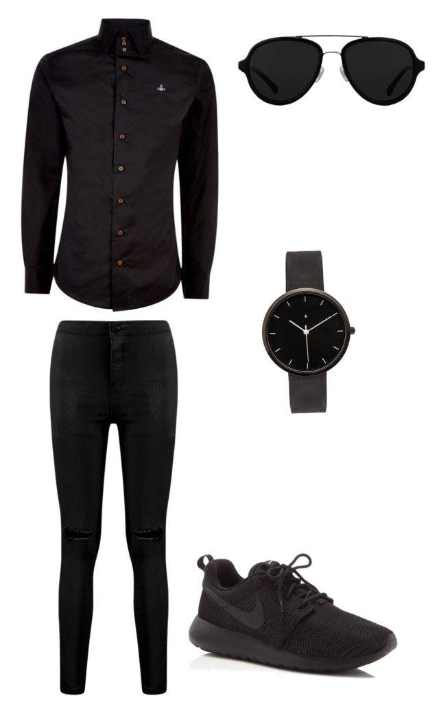 All Black Mens Outfit Fashion Pinterest Mens Fashion Black