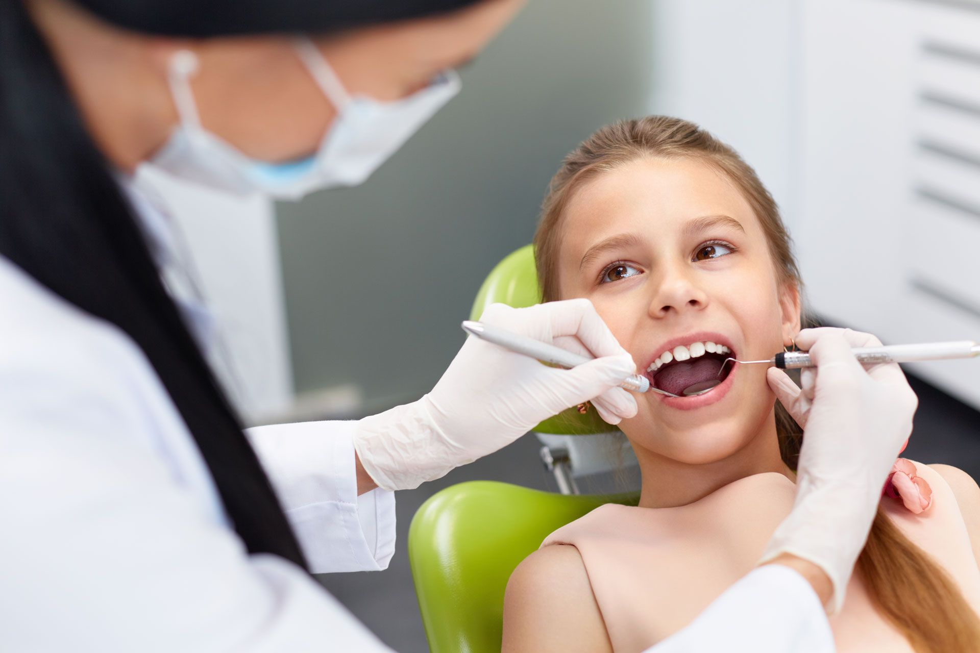 Parents should consult a dental professional to determine