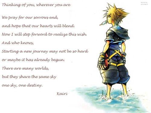 The letter Kairi wrote...