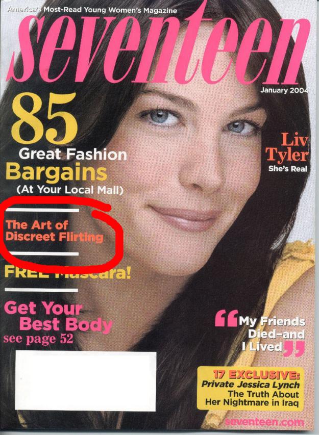 17 magazine dating advice