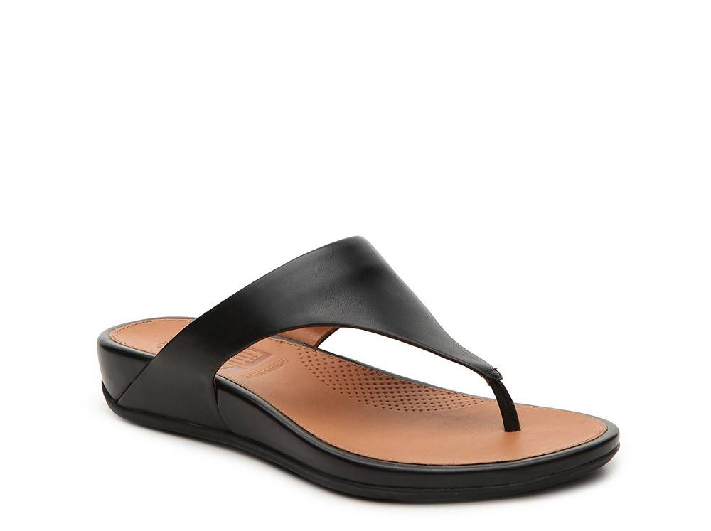FitFlop Banda Wedge Sandal | Leather