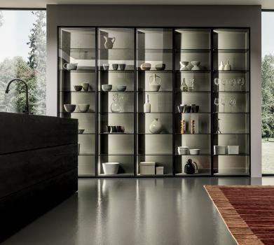 Design di cucine bagni e soggiorni moderni modulnova blade 19 foto 14