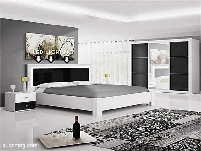 اجمل كتالوج غرف نوم مودرن 2021 اشيك واحدث الديكورات والألوان مجلة صور Bedroom Photos Modern Bedroom Home Decor