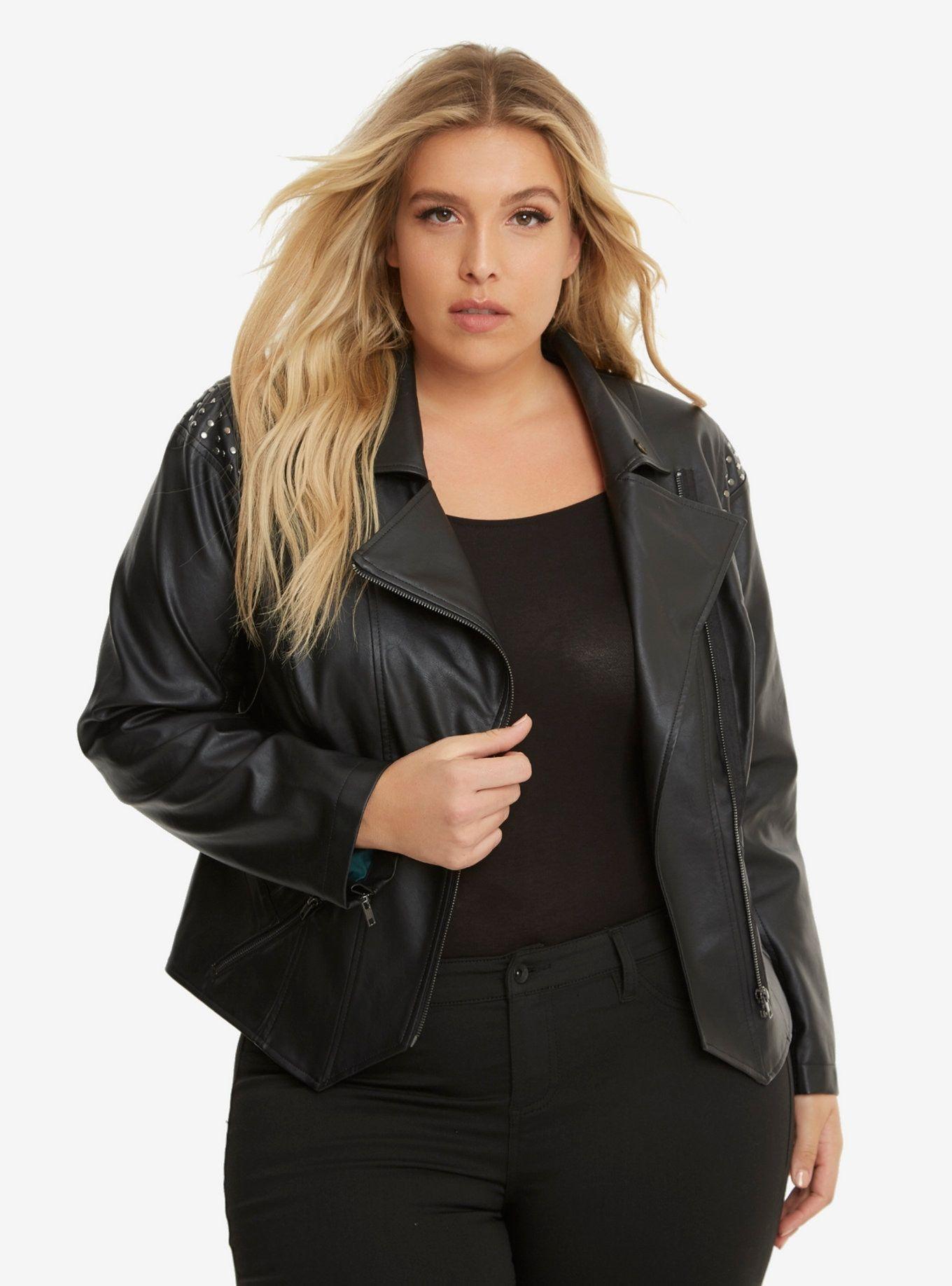 Marvel Loki Faux Leather Jacket Plus Size Marvel jacket