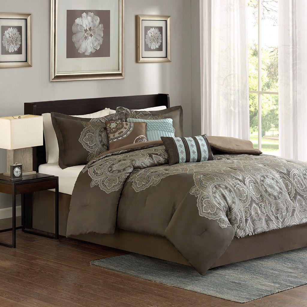 Madison Park Apartments California: Madison Park Capella 7 Piece Comforter Set