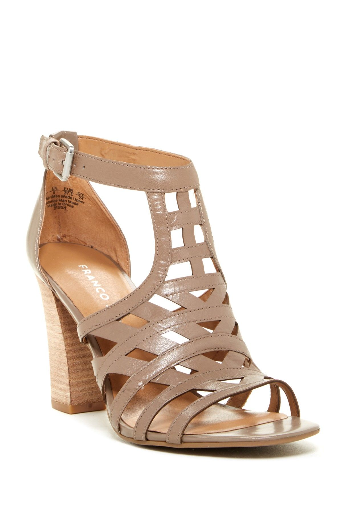 d5886bf950b Franco Sarto Jessa Sandal Brand new without tags! Leather and manmade  upper