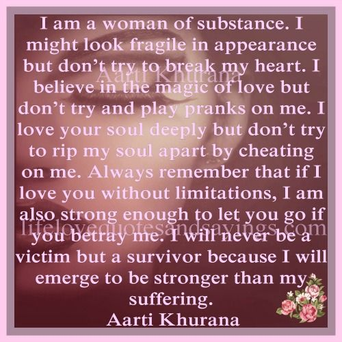 look where i am now quotes   Am A Woman Of Substance...   Love ...