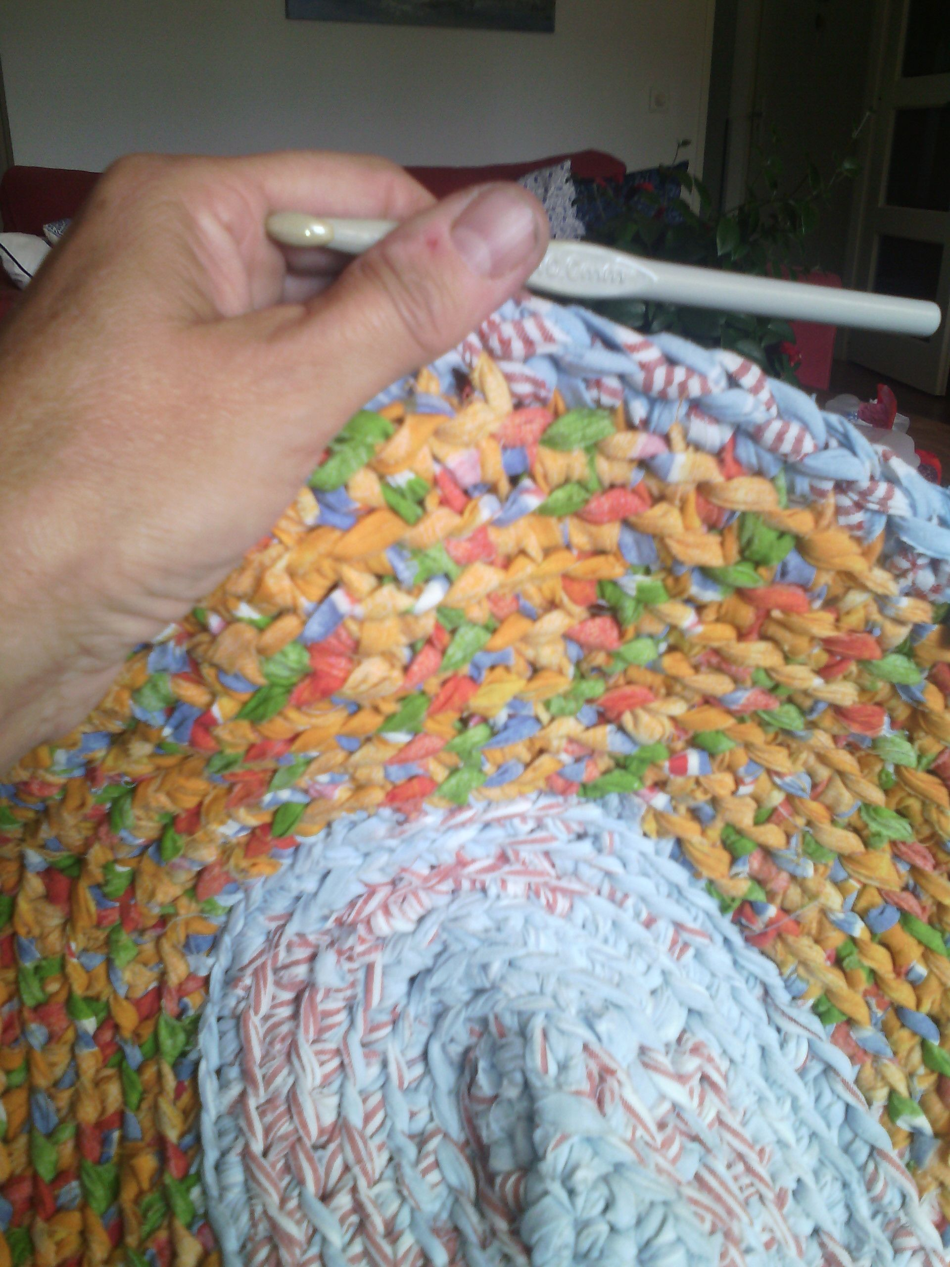Ovaal Kleed Haken Vloerkleed Pinterest Crochet