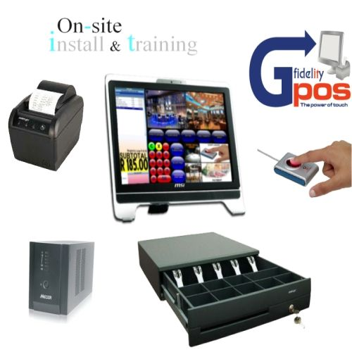 A Point of Sale package offered by e-Sol. An all in one basic package which includes your hardware, software, and installation, This is great, especially for business owners looking for a complete POS solution on the fly.... ;)