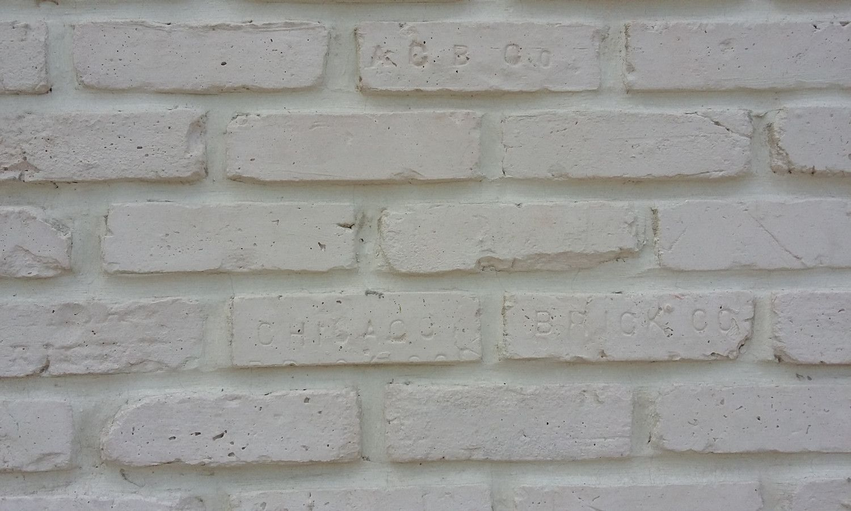 Sample Of Chicago Style Brick Veneers Pure White Color Brick Veneer White Brick Tiles Brick Veneer Wall