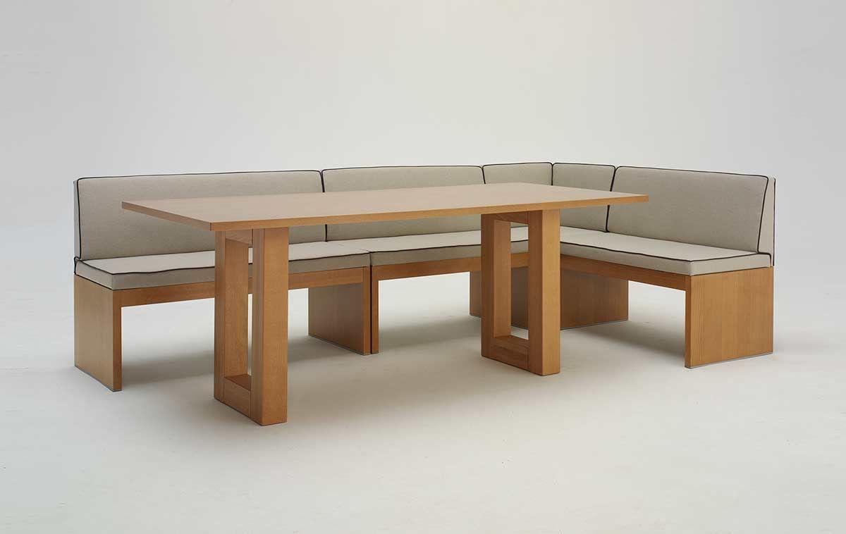 Panca e tavolo roma in foto la panca angolare roma con il tavolo roger il perfetto tavolo da - Panca angolare cucina ...
