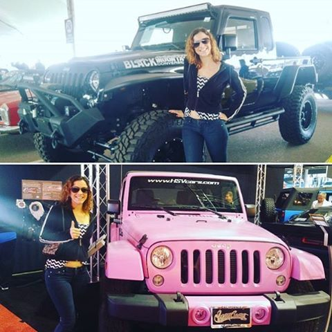 @squeejay211 at @barrett_jackson Auction ready to be a #JEEPHER  www.jeepbeef.com  #jeep #barrettjackson #barrettjackson2016