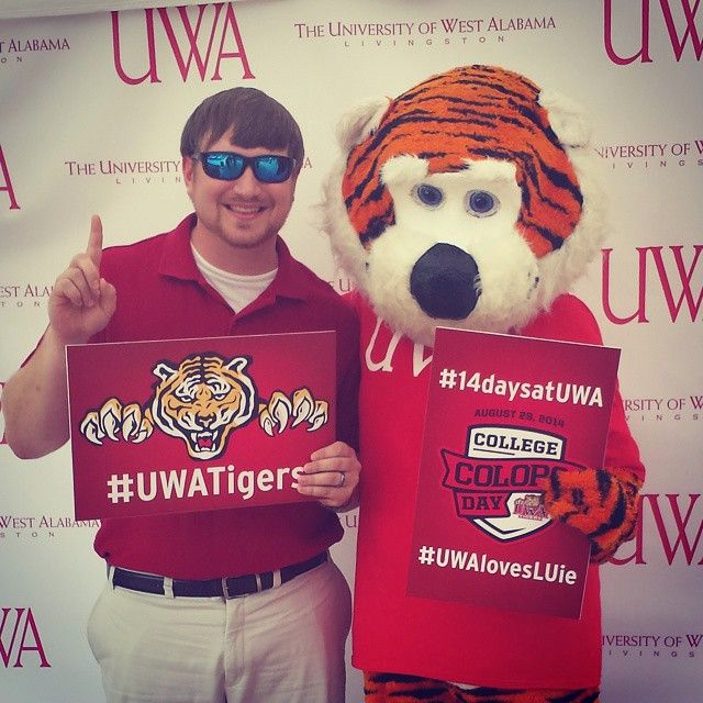Uwatigers Uwalovesluie 14daysatuwa University Of West Alabama