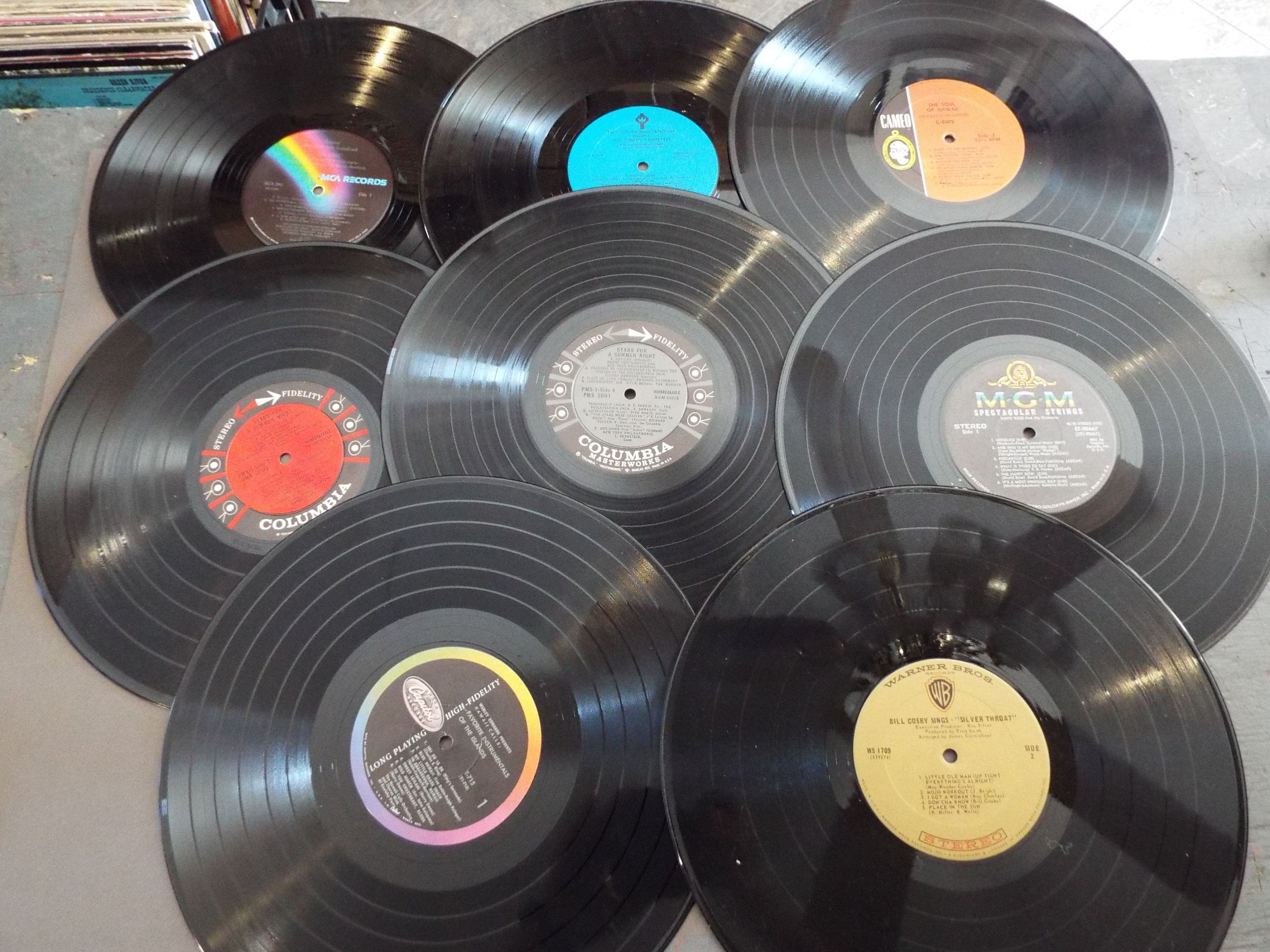 Lot Of 10 12 Vinyl Lp Records For Crafts Decorations Diy Vinyl Lp Records Records