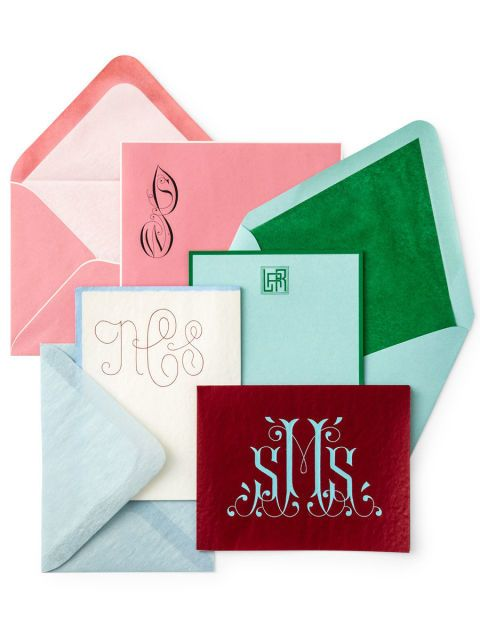 how to live luxuriously from a to z monograms stationary and