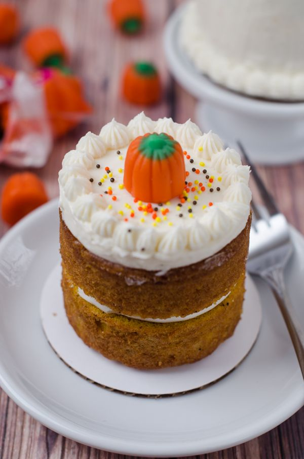 Mini Pumpkin Layer Cakes Feed Your Face Pinterest Mini