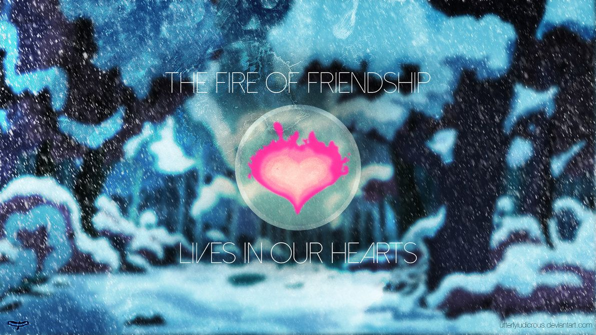 WOTW Submission: The Fire of Friendship by UtterlyLudicrous on DeviantArt