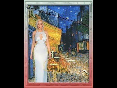 Jennifer Lawrence at van Vincent van Gogh\u0027s \u201cCafé at Night\u201d in Arles