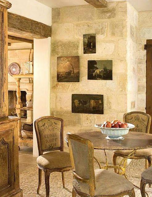 8 Stunning French Country Kitchen Decor Ideas! | Farmhouse kitchen ...