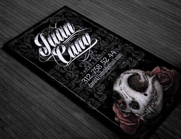 Vintage Urban Tattoo Winged Heart Business Cards | tattoos picture ...