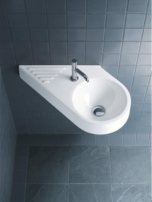 Duravit Architec Handwaschbecken B 64 5xt 41cm 1 Hahnloch Links Ohne Uberlauf Becken Rechts Weiss 0765650000 Handwaschbecken Duravit Kleines Waschbecken