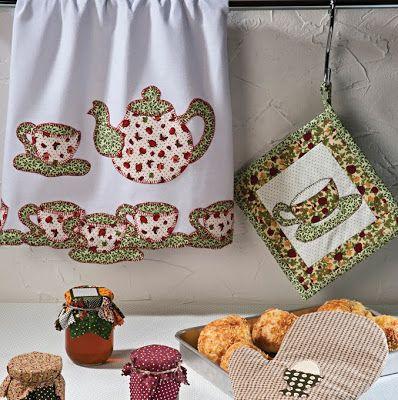 Manualidades para la cocina ~ Solountip.com | costuritas | Pinterest ...