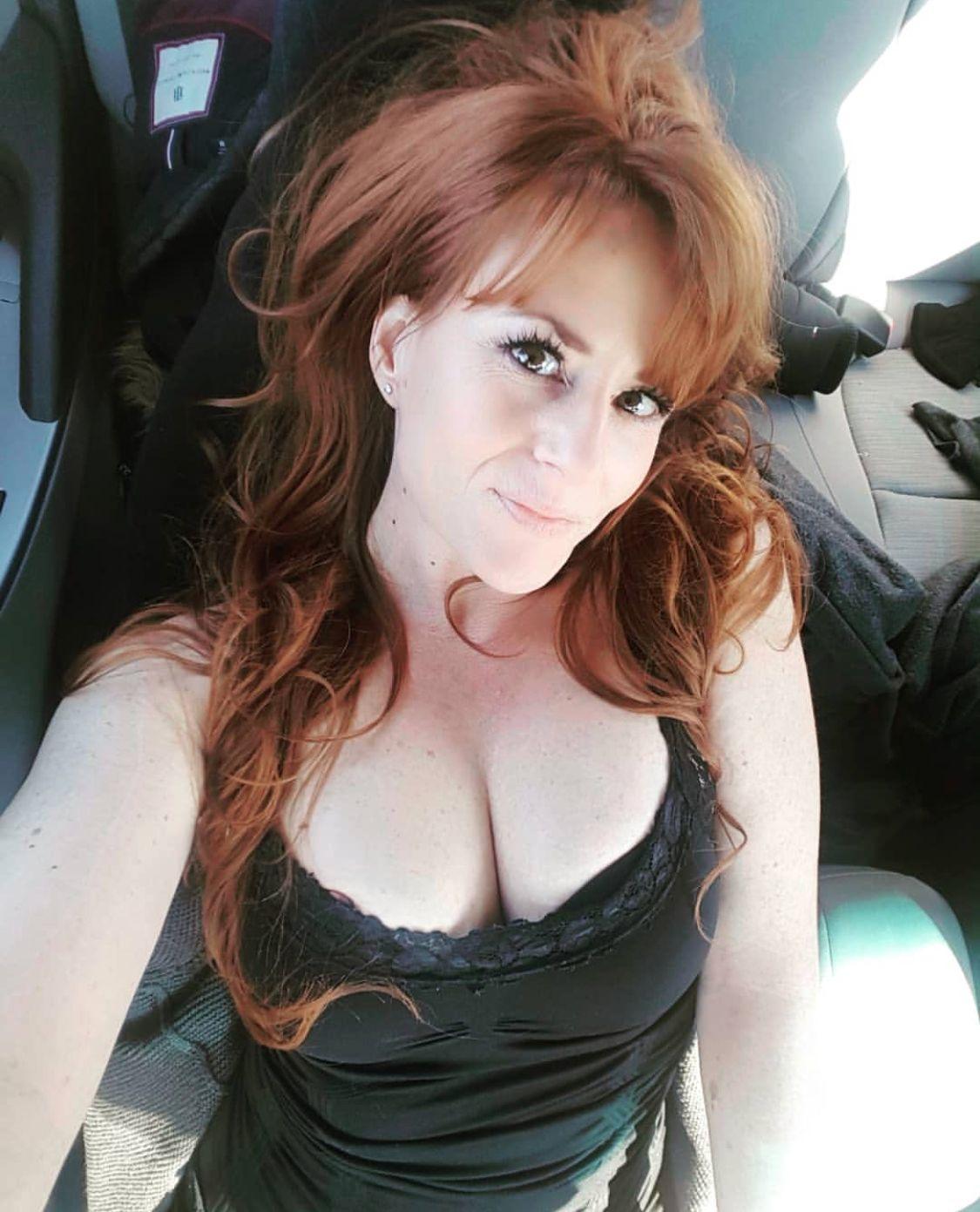 Redhead mature hot wife