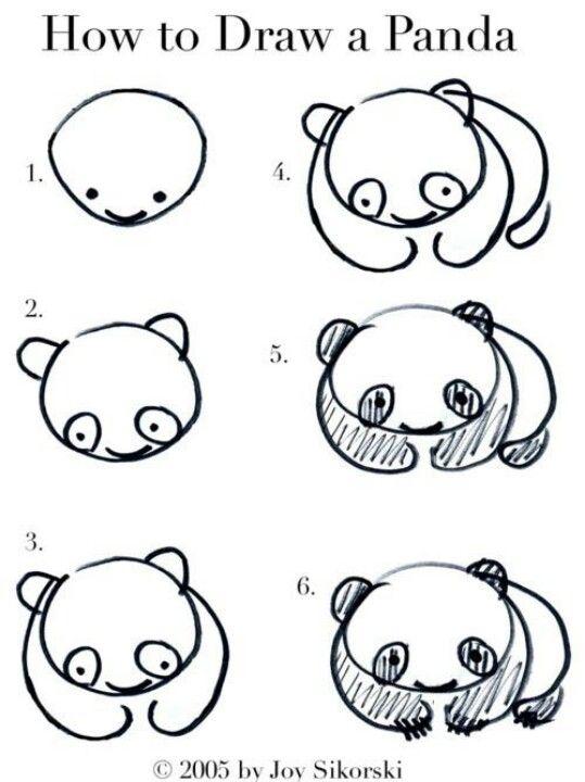 Comment Dessiner Un Panda Dessin A Faire Comment